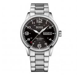 Hugo Boss Gents Pilot Vintage Quartz Watch 1513323