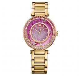 Juicy Couture Yellow Gold Plate Cali Quartz Watch 1901404