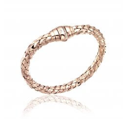 Chimento 18ct Rose Gold Stretch Classic Bracelet