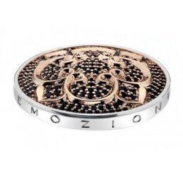 Emozioni By Hot Diamonds Fiore di Loto Rose Gold Plated Coin - 33mm EC210