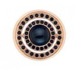 Emozioni By Hot Diamonds Giorno e Notte Rose Gold Plated Coin - 33mm EC223