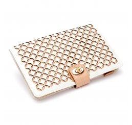 Chloe Cream Portfolio Jewellery Case 301353