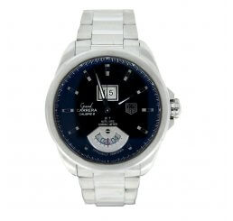 Pre-Owned Gents TAG Heuer Grand Carrera GMT Calibre 8 Automatic Watch 2009 Model WAV5111