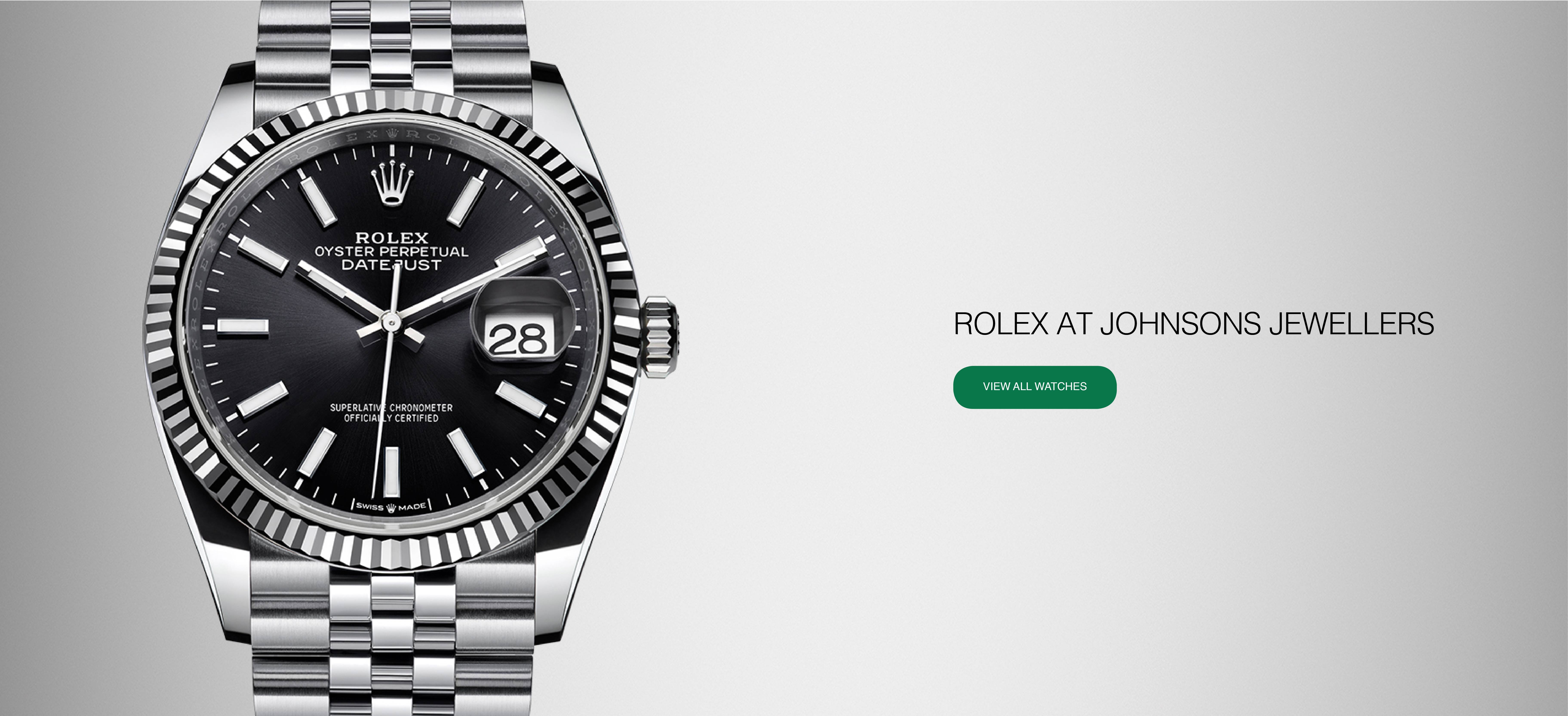 Authorised Rolex Stockist