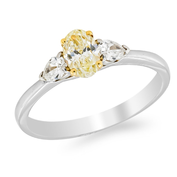 platinum-oval-yellow-diamond-and-two-pear-dress-ring