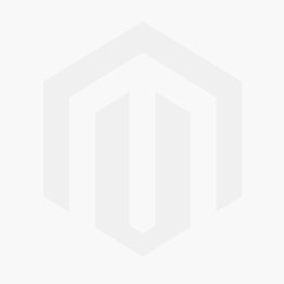 9ct White Gold Oval Ruby and Diamond Cluster Ring