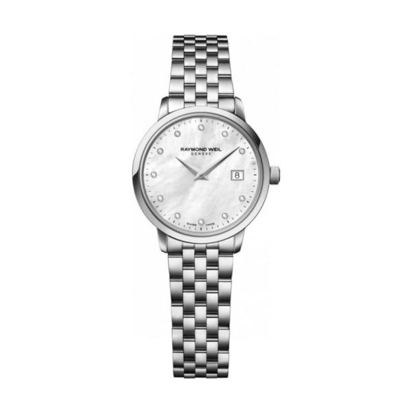 Raymond Weil Toccata White 29mm Bracelet Watch 5985-ST-97081