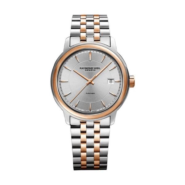 Raymond Weil Maestro silver 40mm Bracelet Watch 2237-SP5-65021