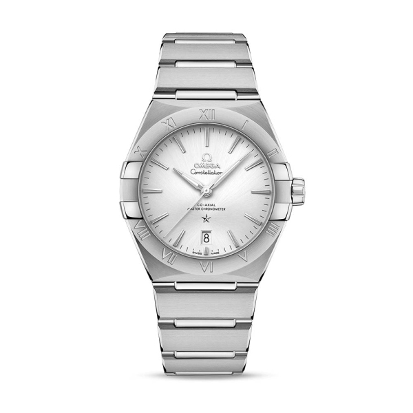 Omega Constellation 39 Co-Axial Master Chronometer Silver Watch 13110392002001