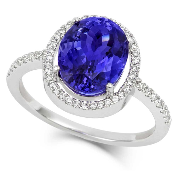 18ct-white-gold-oval-tanzanite-and-diamond-cluster-ring