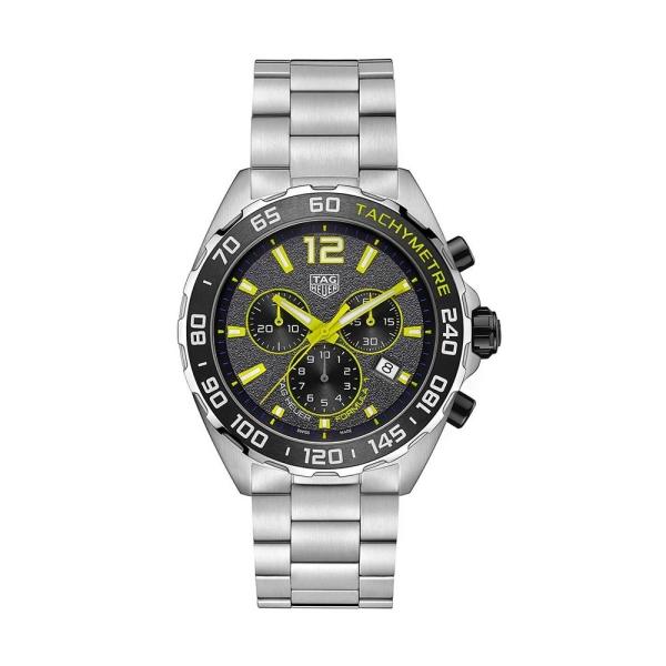 TAG Heuer Formula 1 43mm Grey Chronograph Bracelet Watch CAZ101AG.BA0842