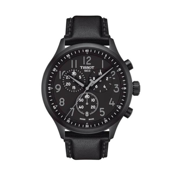 Tissot Chrono XL Vintage Black 45mm Strap Watch T1166173605200
