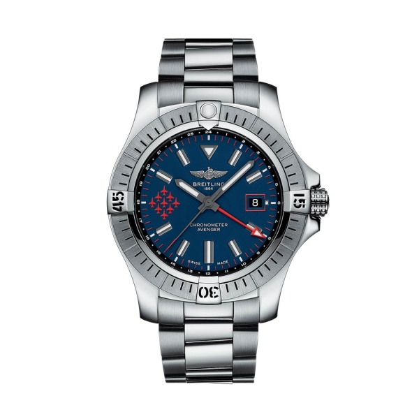 Breitling Avenger GMT 45mm Blue Dial A323951A1C1A1