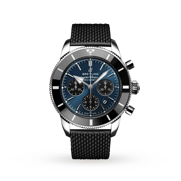 Breitling Superocean Heritage Chronograph 44 Blue Watch AB0162121C1S1