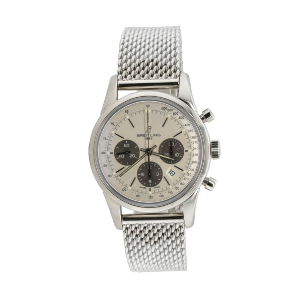 Pre-owned Breitling Transocean Chronograph Automatic AB0152