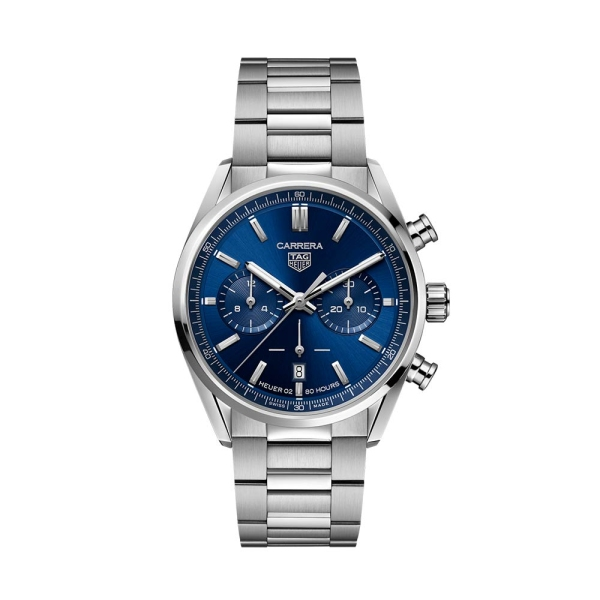 TAG Heuer Carrera 42mm Blue Chronograph Dial CBN2011.BA0642