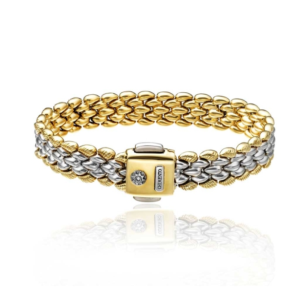 Chimento Airon 18ct Yellow and White Gold Double Bracelet 1B00136ZBE185