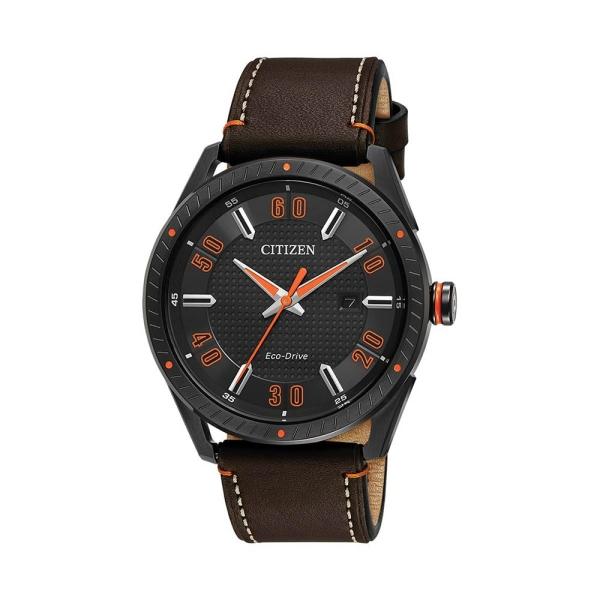 citizen-drive-eco-drive-black-case-brown-strap-bm6995-19e