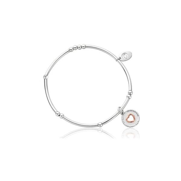 Clogau Cariad Morse Code Affinity Bead Bracelet 3SBB100