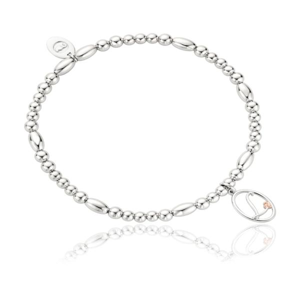 Clogau Tree of Life Affinity Bead Initial L Bracelet 3SBBIRL