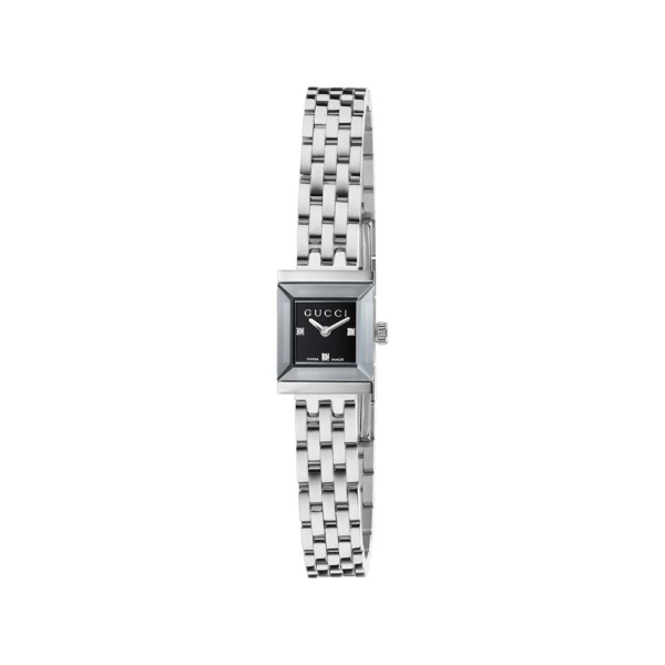 Gucci G Frame Square Black Dial Watch YA1285207