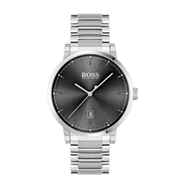 Hugo Boss Confidence Black Dial Bracelet Watch 1513792