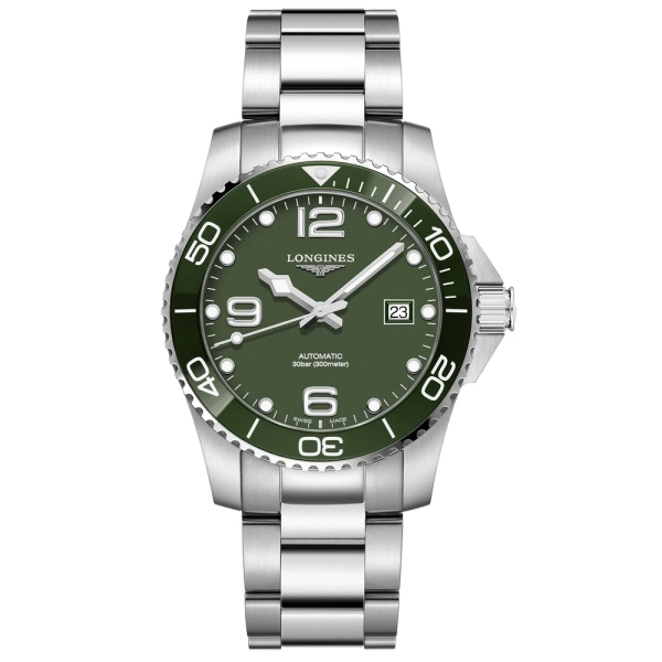 Longines Hydroconquest Automatic Green Dial L3.781.4.06.6