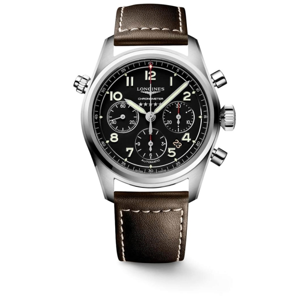 Longines Spirit 40mm Automatic Watch - L3.820.4.53.0