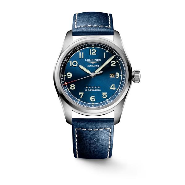 Longines Spirit Automatic Blue Strap  L3.811.4.93.0