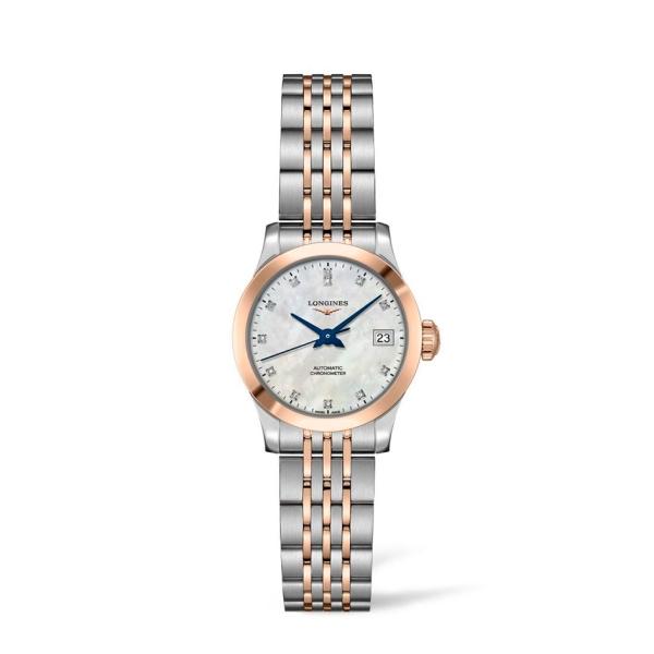 longines-steel-and-rose-record-mop-diamond-bracelet-watch-l2-320-5-87-7