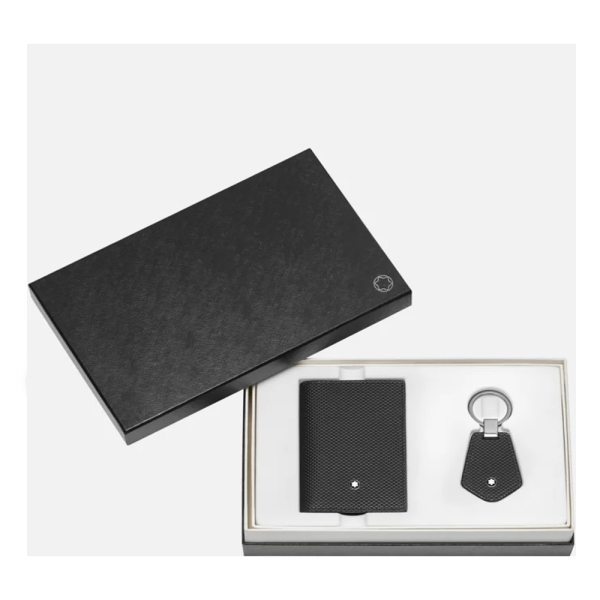 Montblanc Business Card Holder and Key Fob Gift Set 126276