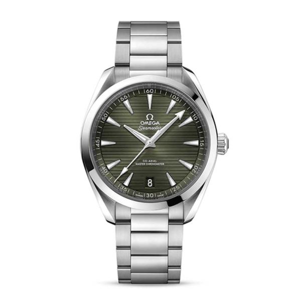 OMEGA Aquaterra Co-Axial Green Baton Watch 22010412211001