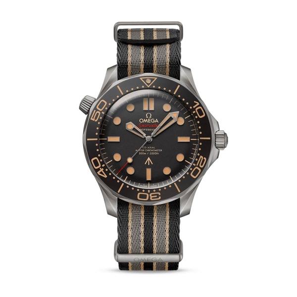 OMEGA Seamaster Diver 300m 42mm 007 Edition NATO Strap 21092422001001