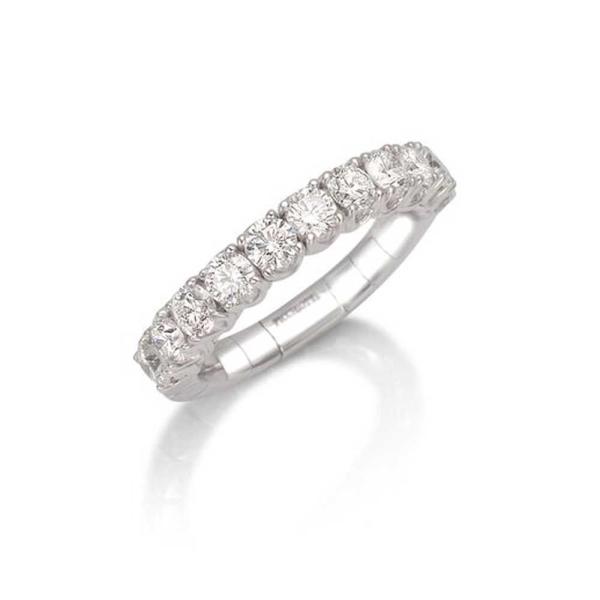 Picchiotti 18ct White Gold Xpandable Diamond Ring 1.17ct