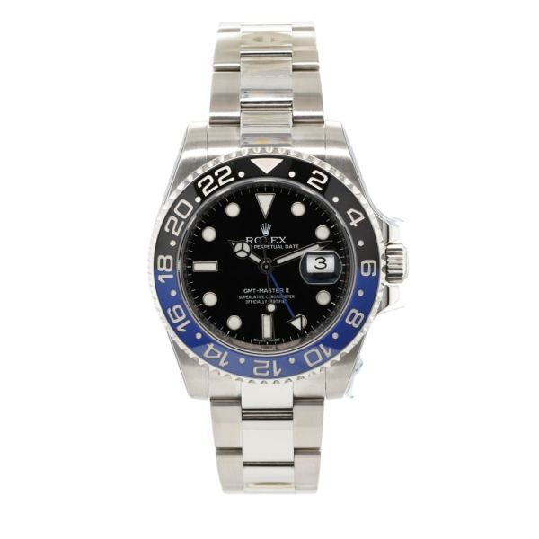 Pre-owned Rolex GMT Master II  116710BLNR