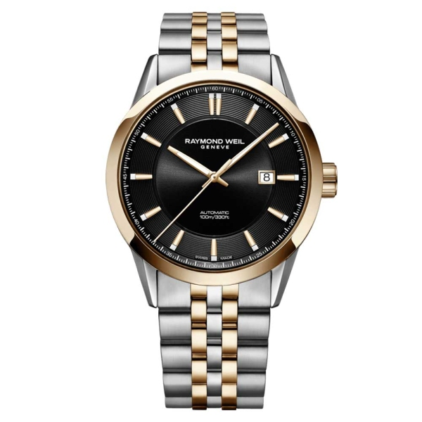 raymond-weil-freelancer-steel-and-rose-automatic-black-dial-2731-sp5-20001