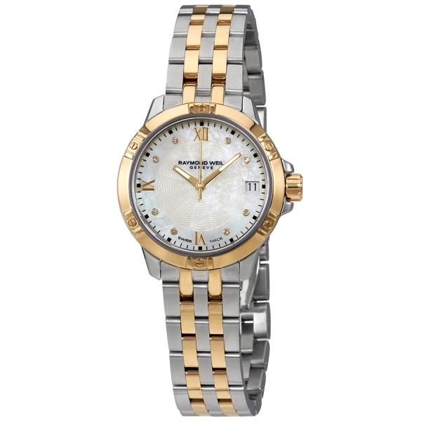 Raymond Weil Tango Mother Of Pearl 30mm Bracelet Watch 5960-STP-00995
