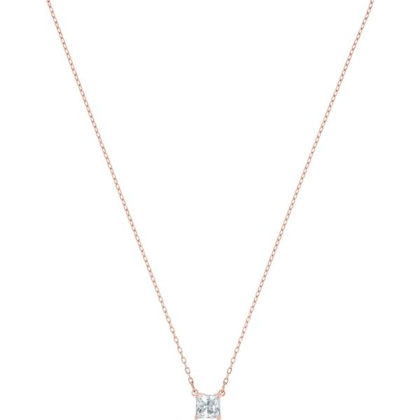 Swarovski Rose Gold Tone Attract Necklace 5510698