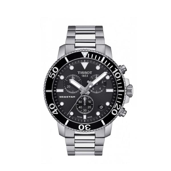 Tissot Seastar 1000 Black Chronograph T1204171105100