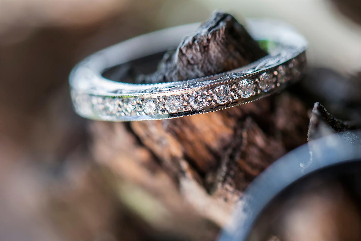 Eternity Ring Woodland Shot