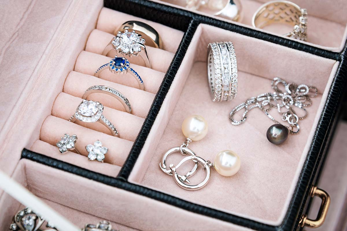 Jewellery Box Sections